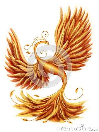 Free Magic Firebird Stock Images - 44623904