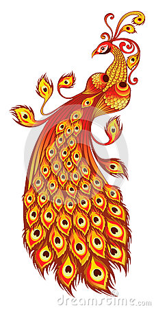 Firebird, Russian Fairy Tales Character Stock Images - Image: 20302774