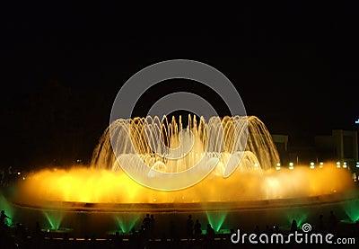 Magic Fountain of Barcelona