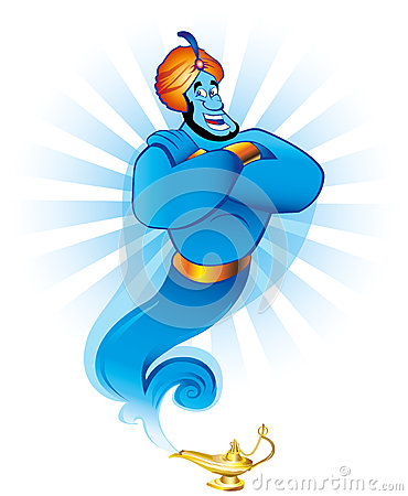 Free Magic Genie Stock Photo - 30132470