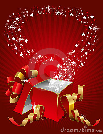 Free Magic Gift Box Stock Images - 16215964