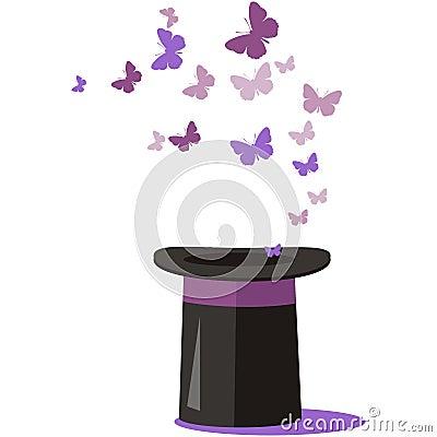 Free Magic Hat Set 01 Stock Image - 15975611