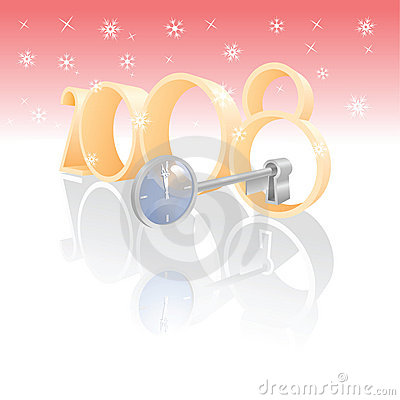 Magic key unlock new year
