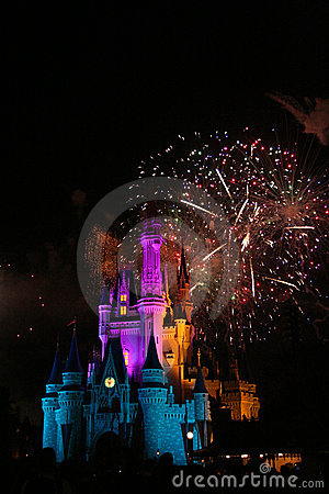 Magic Kingdom Editorial Image
