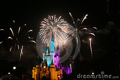 Magic Kingdom Editorial Stock Photo