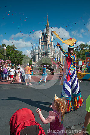 Magic Kingdom Parade Editorial Photo