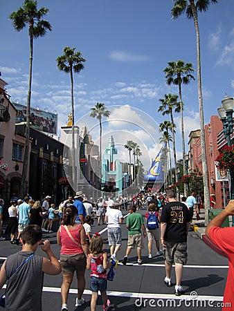 Magic Kingdom theme park Orlando FL Editorial Stock Photo