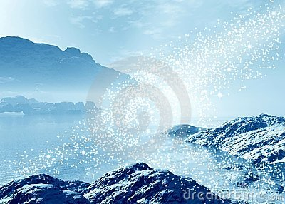 Magic Landscape Royalty Free Stock Photo - Image: 12149275