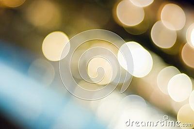 Magic light in the night