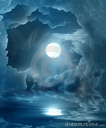Free Magic Moon Stock Image - 20976721