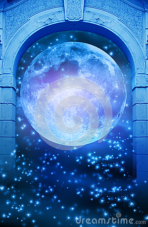 Magic moon gate