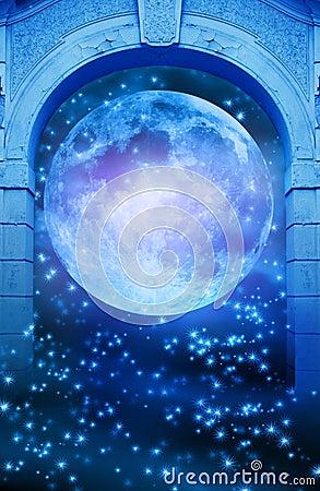 Magic moon gate
