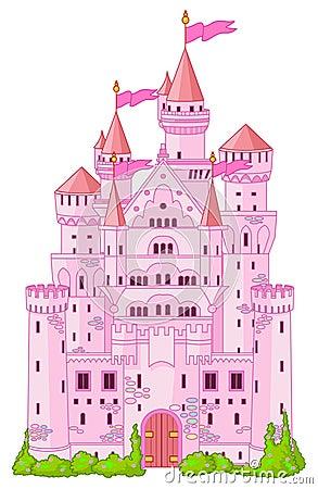 Free Magic Princess Castle Stock Photo - 17789780