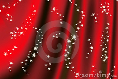 Magic red background