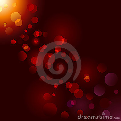 Free Magic Sparkle, Light Dots; Vector Bokeh Effect Stock Image - 11158571