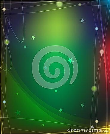 Magic star background