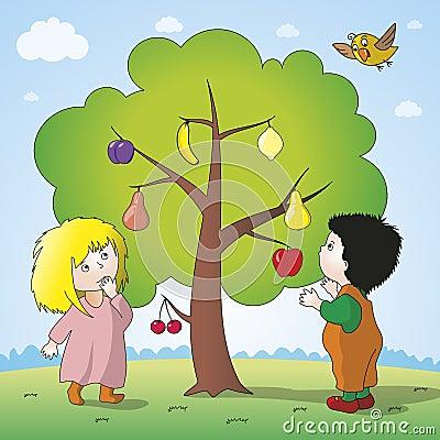 Free Magic Tree Stock Photos - 54709053
