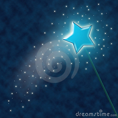 Free Magic Wand Royalty Free Stock Photos - 489308