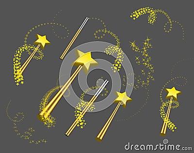 Magic wand set
