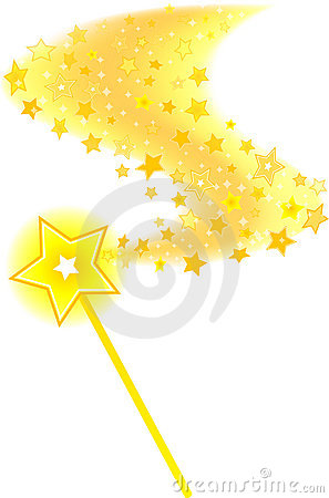 Magic Wand Star Trail