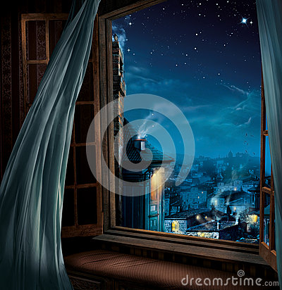 Free Magic Window Stock Images - 38853794