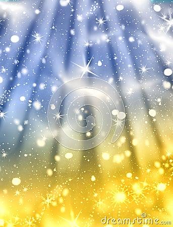 Free Magic Winter Night Stock Image - 7202851