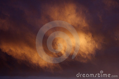 Magical Cloud Background