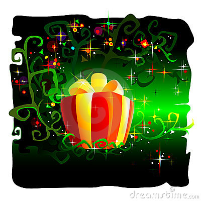 Royalty Free Stock Photo: Magical Gift