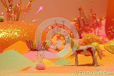 Magical Horse scene