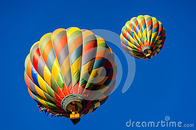 Magical Hot Air Balloons Editorial Image