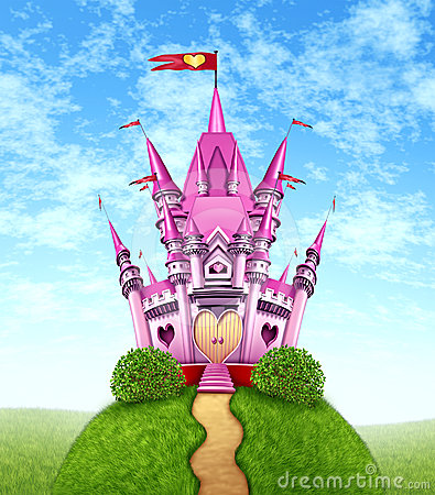 Magical Pink Castle