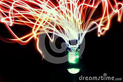 Magical Potion Elixer Bottle