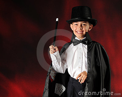 Magician in the Making
