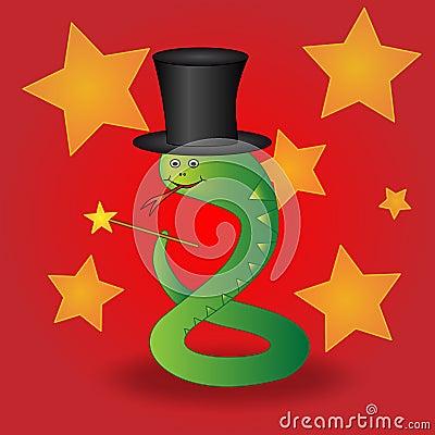 Magician snake