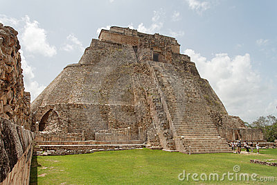 The Magicians Pyramid Uxmal Yucatan Mexico
