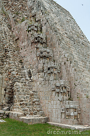 The Magicians Pyramid Uxmal Yucatan Mexico