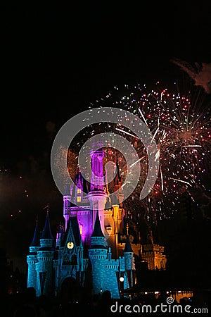 Magisch Koninkrijk Redactionele Afbeelding