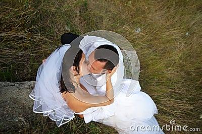 Magisch van de huwelijkskus tussen minnaars