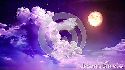 Magische hemel stock video