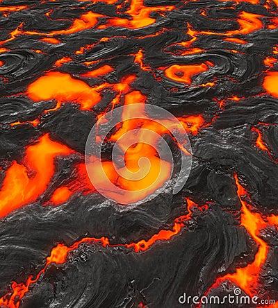 Free Magma Or Molten Lava Royalty Free Stock Photos - 2942758