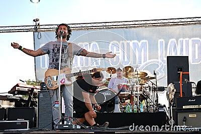 Magna Cum Laude in Concert Editorial Stock Photo