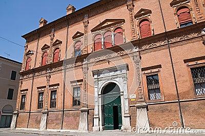 Magnanini- Roverella Palace. Ferrara.