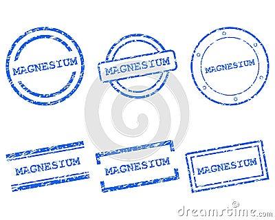 Magnesium stamps