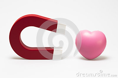 Magnet and heart