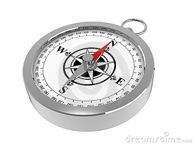 A Magnetic Compass Stock Image Image 7109811
