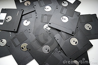 Magnetic floppy discs