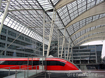 Magnetic levitation train