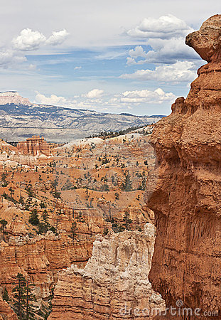 The magnificant Bryce canyon