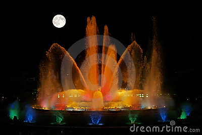 The magnificent fountains