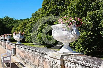 Magnificent garden of Diane de Poitiers